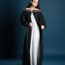 Coat with open shoulders - new photos!