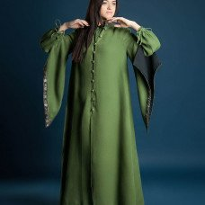Long coat with wide sleeves - new photos!