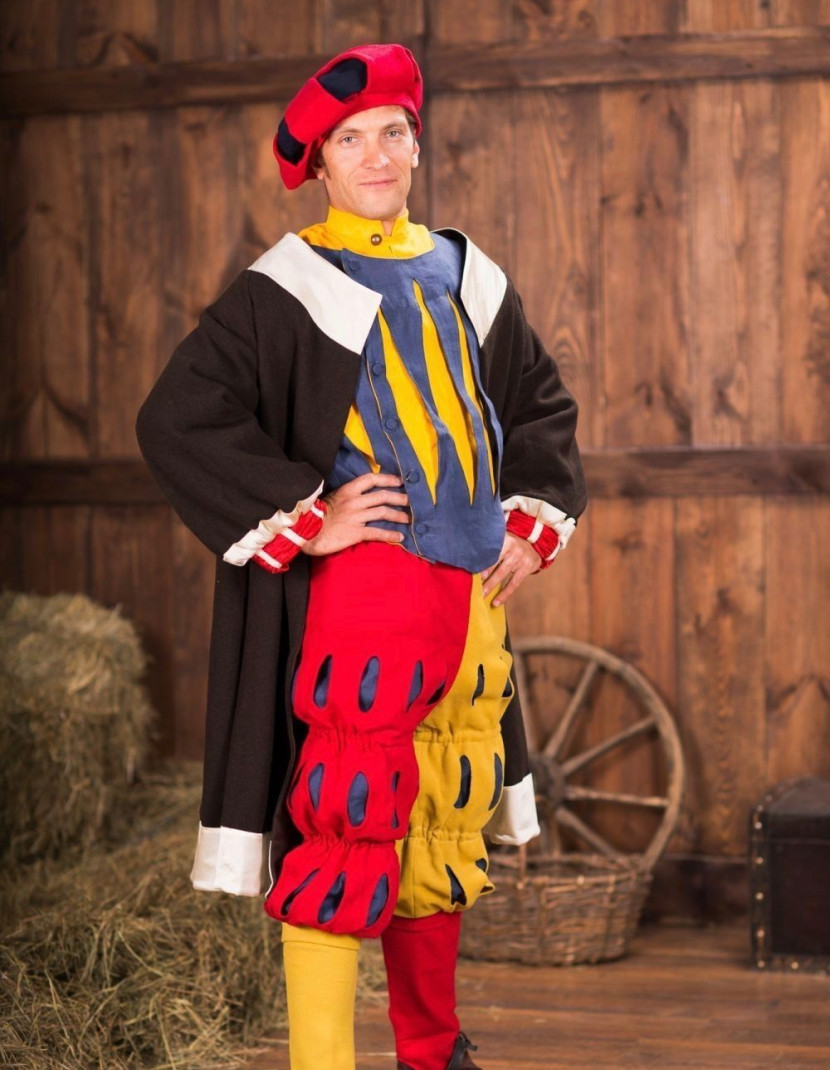 Landsknecht costume - early XVI century photo made by Steel-mastery.com