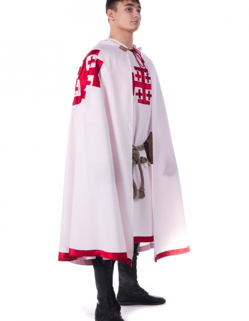 Costume of Knight of the Holy Sepulchre of Jerusalem  photo made by Steel-mastery.com