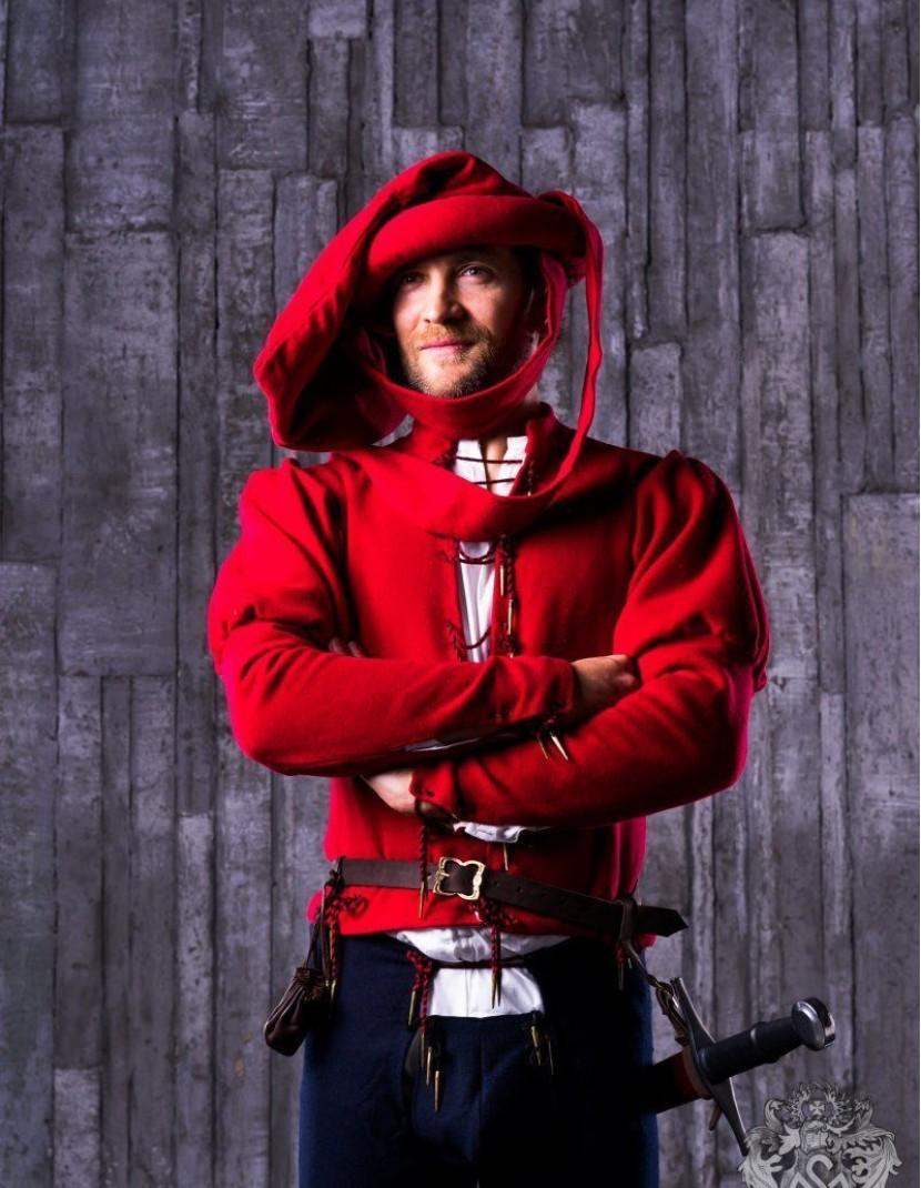 Burgundian men s suit, XV century photo made by Steel-mastery.com