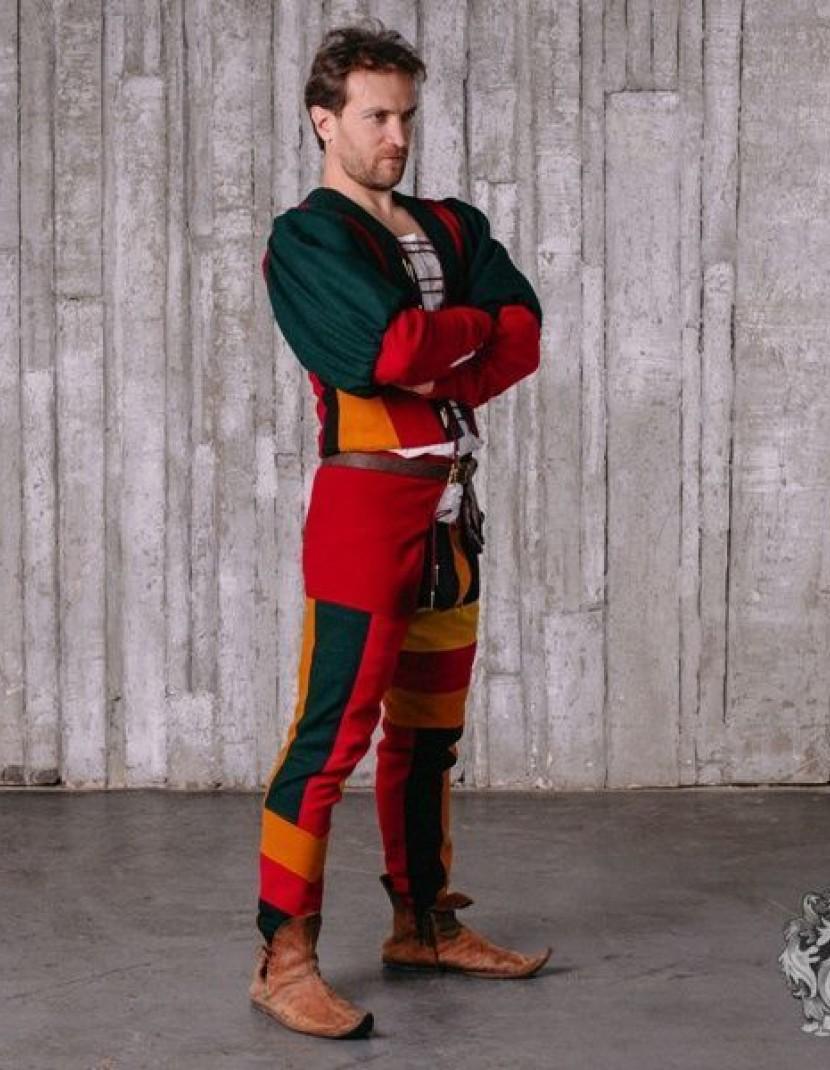 Italian Renaissance men's costume, XV century photo made by Steel-mastery.com