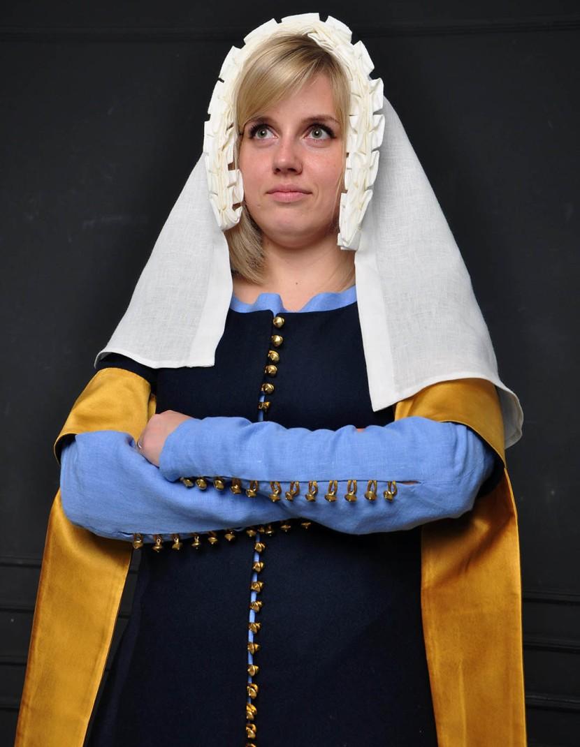 English dress of the XIV-XV century photo made by Steel-mastery.com