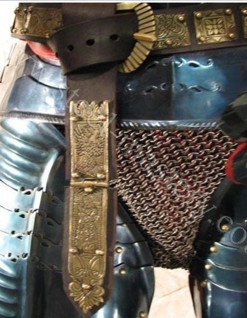 German full plate armour for interior or non-battle actions, 15th century photo made by Steel-mastery.com
