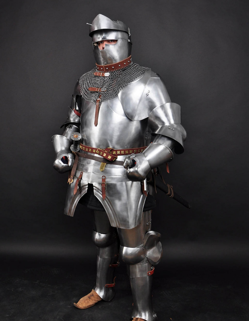 Full plate armor photo made by Steel-mastery.com