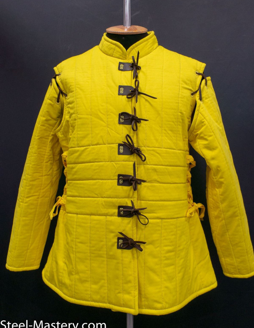 Women's gambeson photo made by Steel-mastery.com