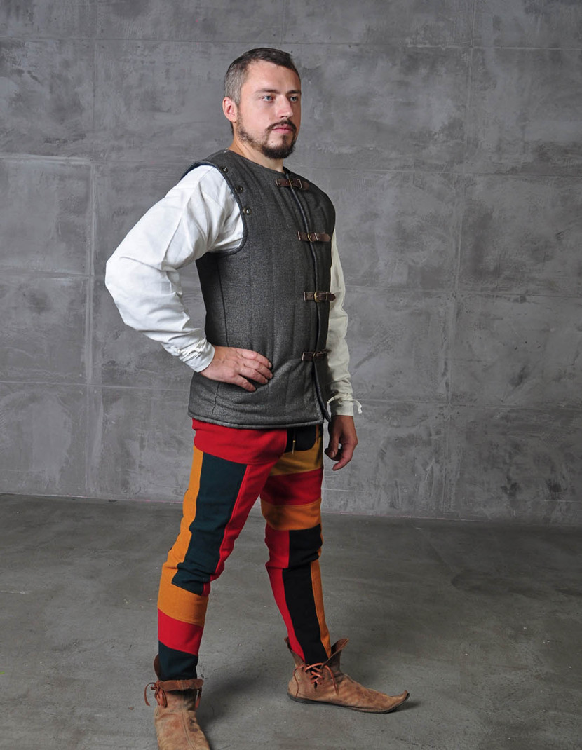 Doublet vest in Renaissance style photo made by Steel-mastery.com