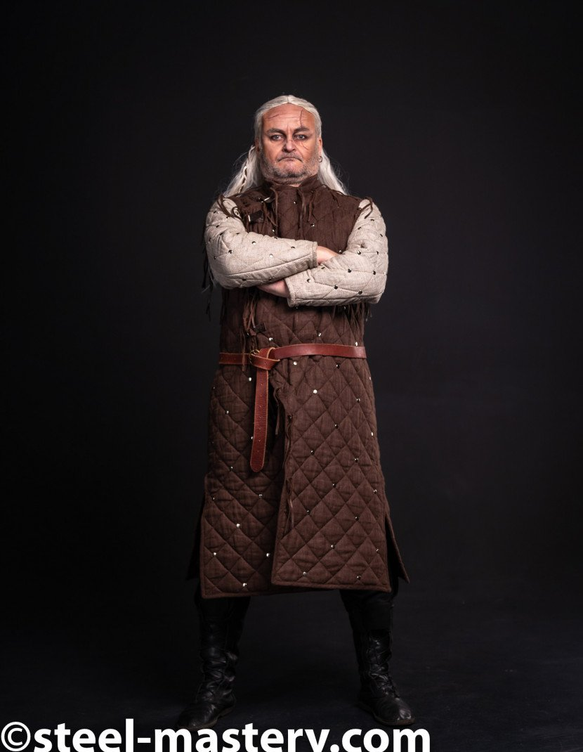 Witcher Gambeson photo made by Steel-mastery.com