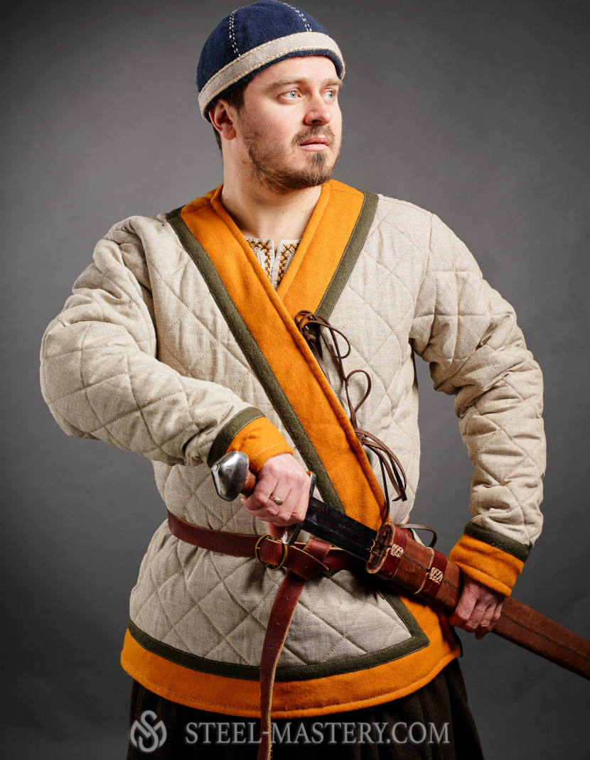 The Hedeby Klappenrock Jacket photo made by Steel-mastery.com