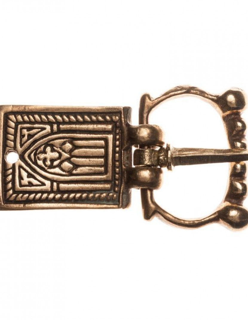 Western European cast belt set, XIV-XV centuries photo made by Steel-mastery.com