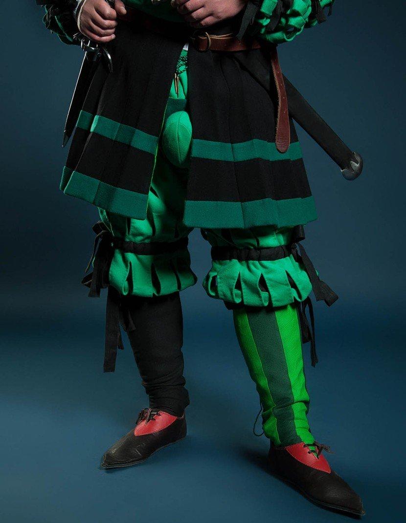 Costume of Landsknecht, XV century photo made by Steel-mastery.com