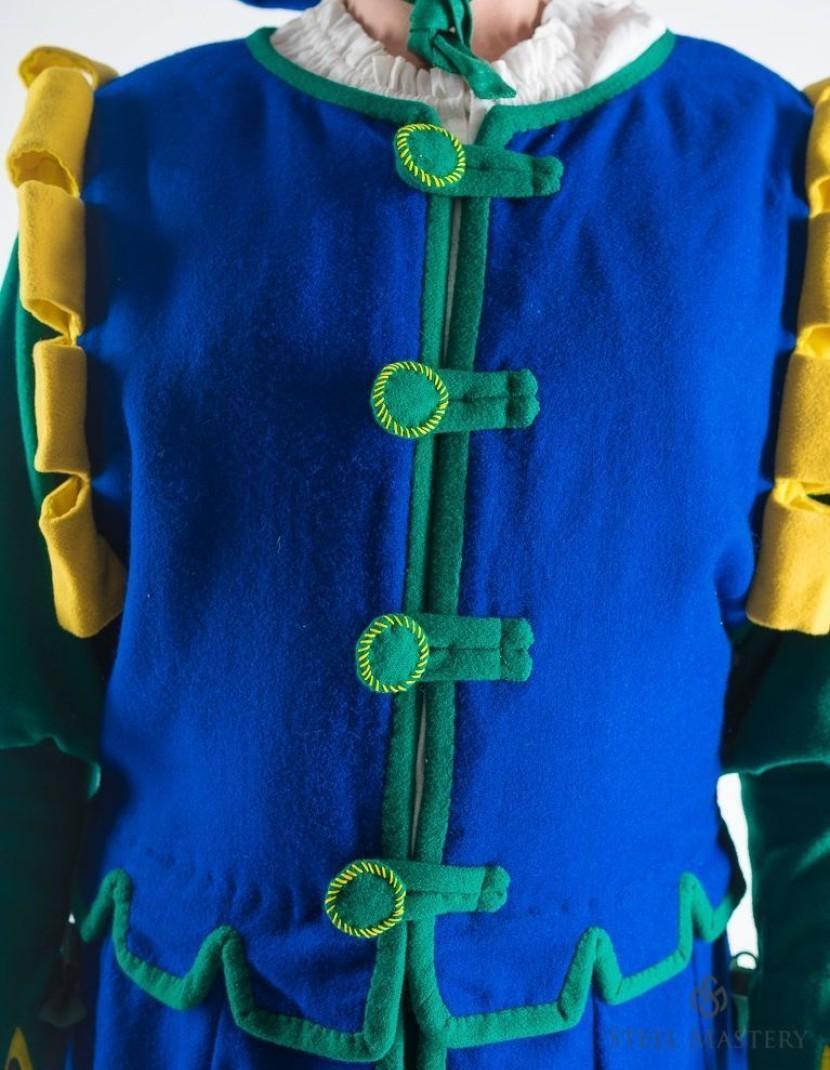 Costume of landsknecht (from Heinrich Aldegrever gravure) photo made by Steel-mastery.com