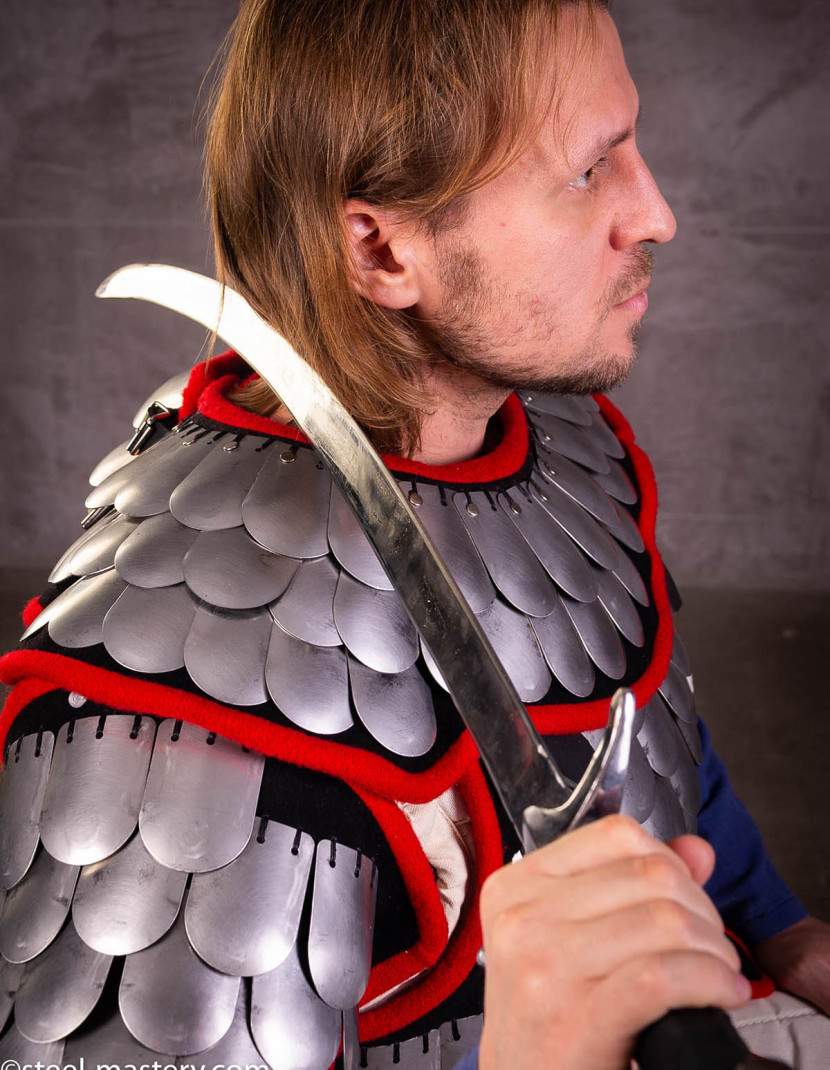Steel scale armour photo made by Steel-mastery.com