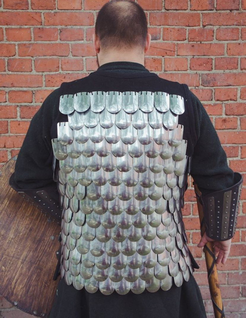 Scale armour of middle ages photo made by Steel-mastery.com