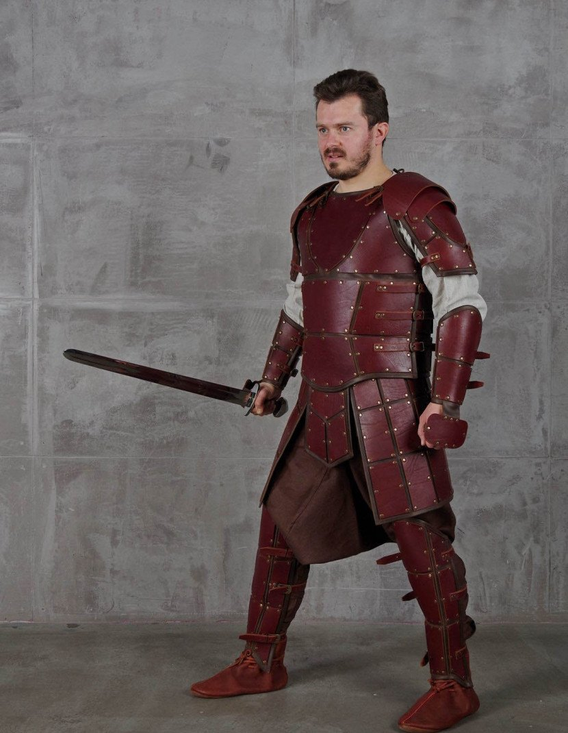 Leather armour in style of Game of Thrones photo made by Steel-mastery.com