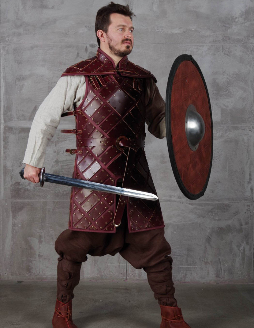 Set of leather armour in style of Jon Snow photo made by Steel-mastery.com