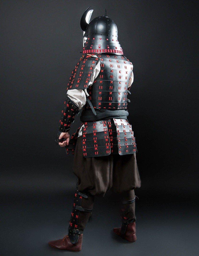O Yoroi - Japanese samurai leather warrior armor photo made by Steel-mastery.com