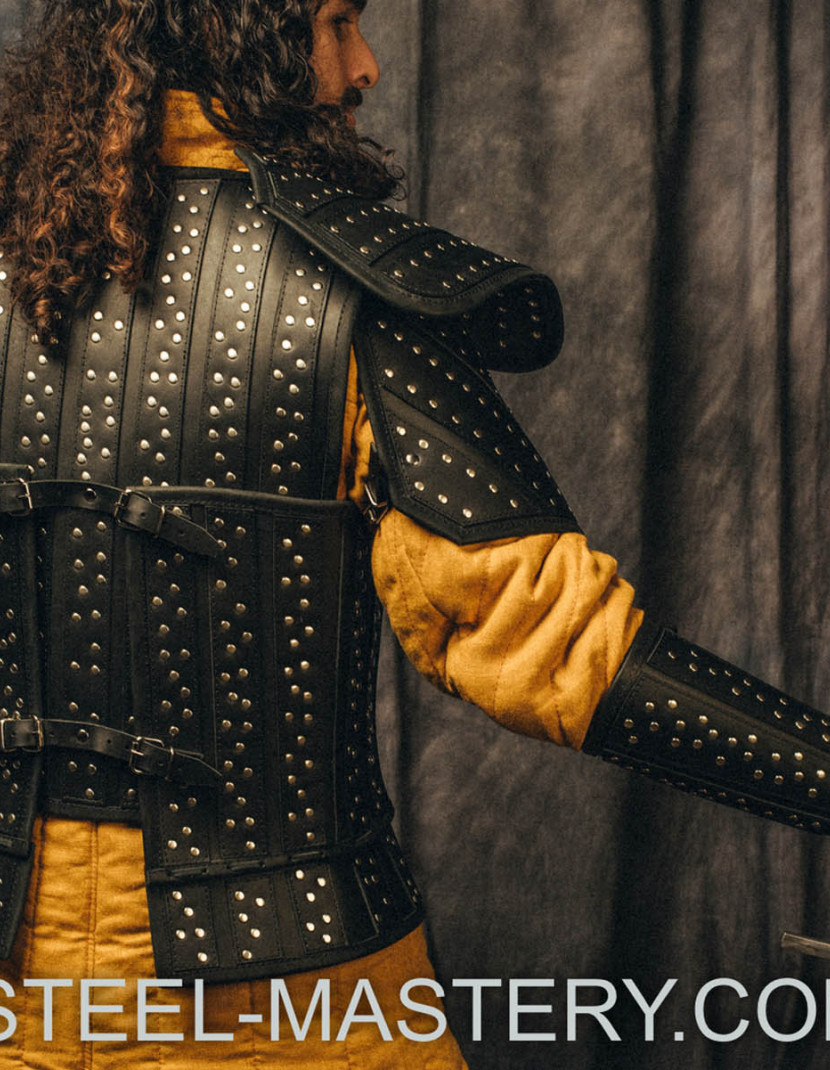 WITCHER LEATHER ARMOR KIT photo made by Steel-mastery.com