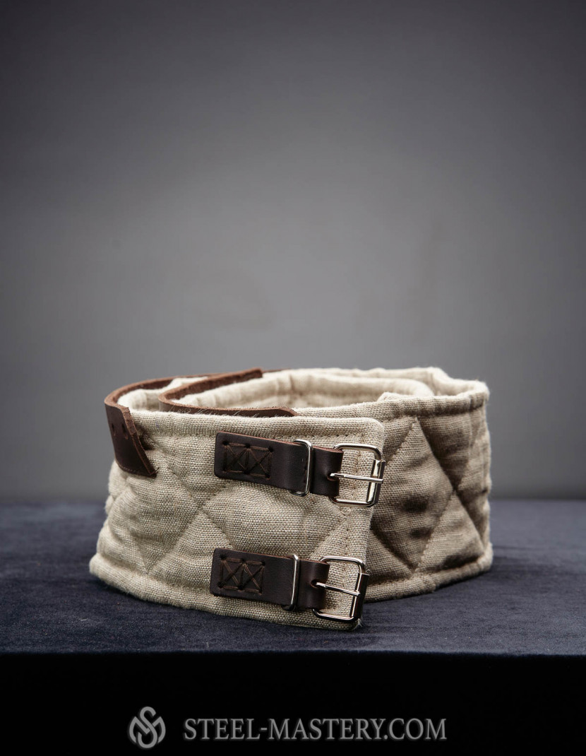 Arming belt, soft quilted photo made by Steel-mastery.com