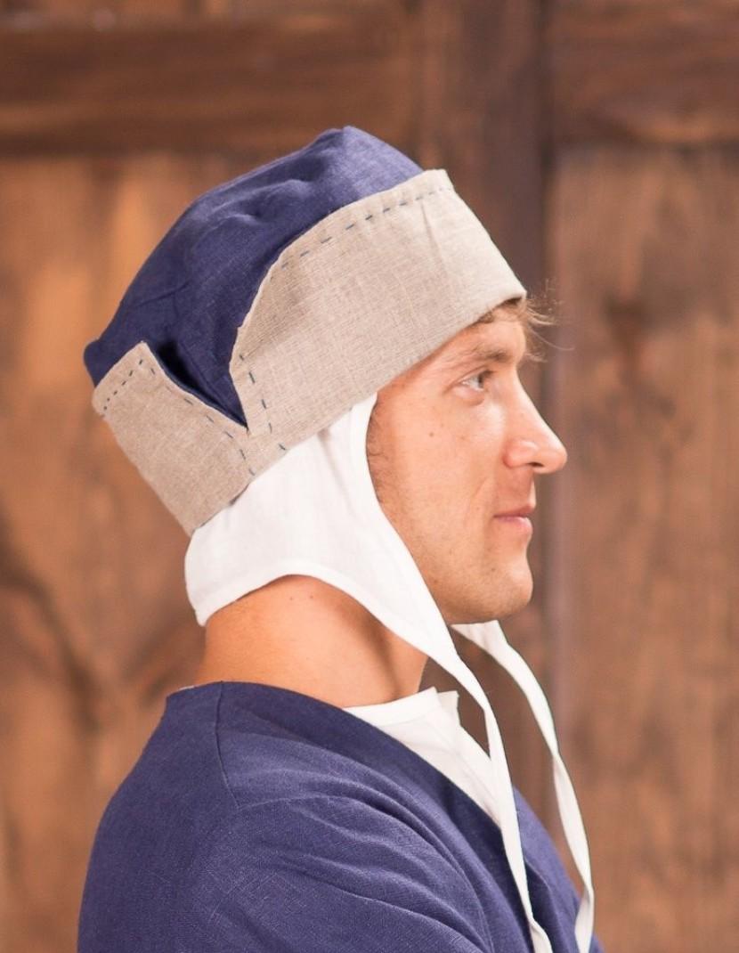 Medieval men s headwear, XIV-XV centuries photo made by Steel-mastery.com