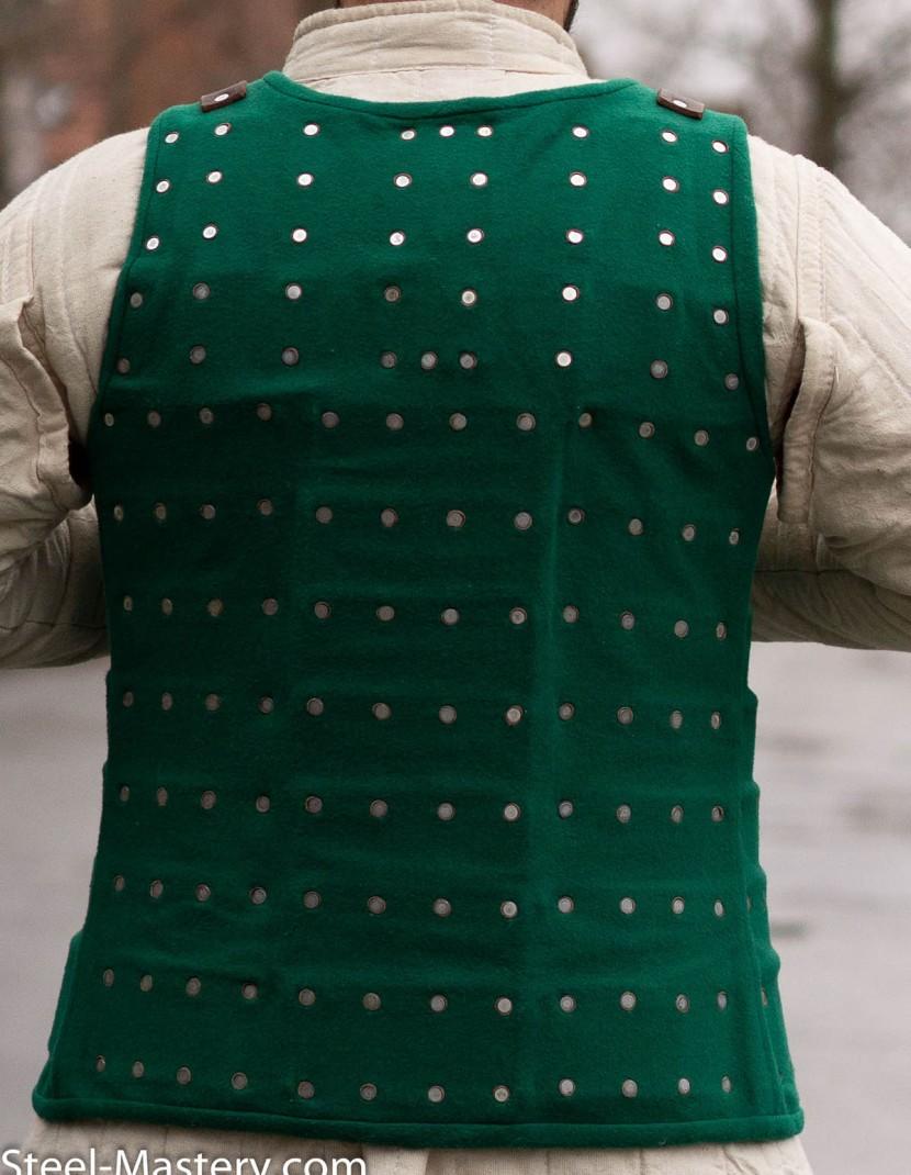 GREEN BRIGANDINE XXL photo made by Steel-mastery.com