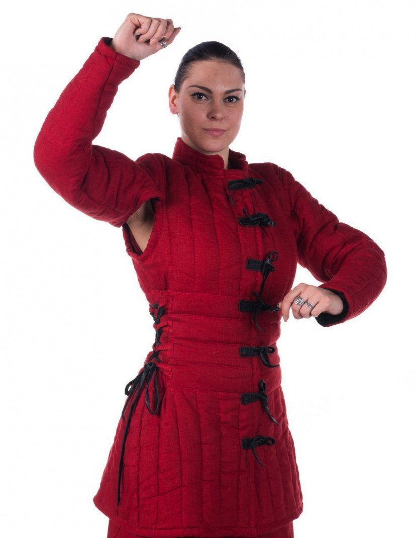 Women s gambeson 1 layer of padding photo made by Steel-mastery.com