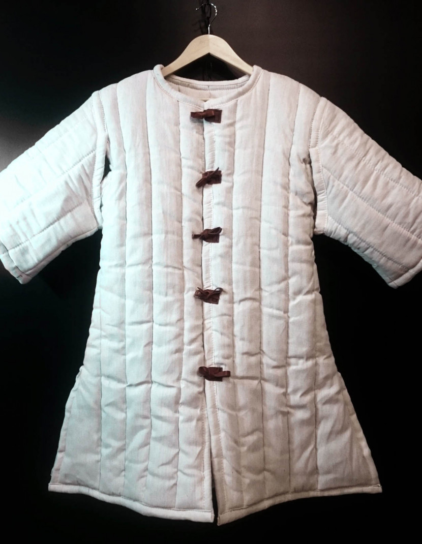 Gambeson VI-XIII century 3 layers padding photo made by Steel-mastery.com