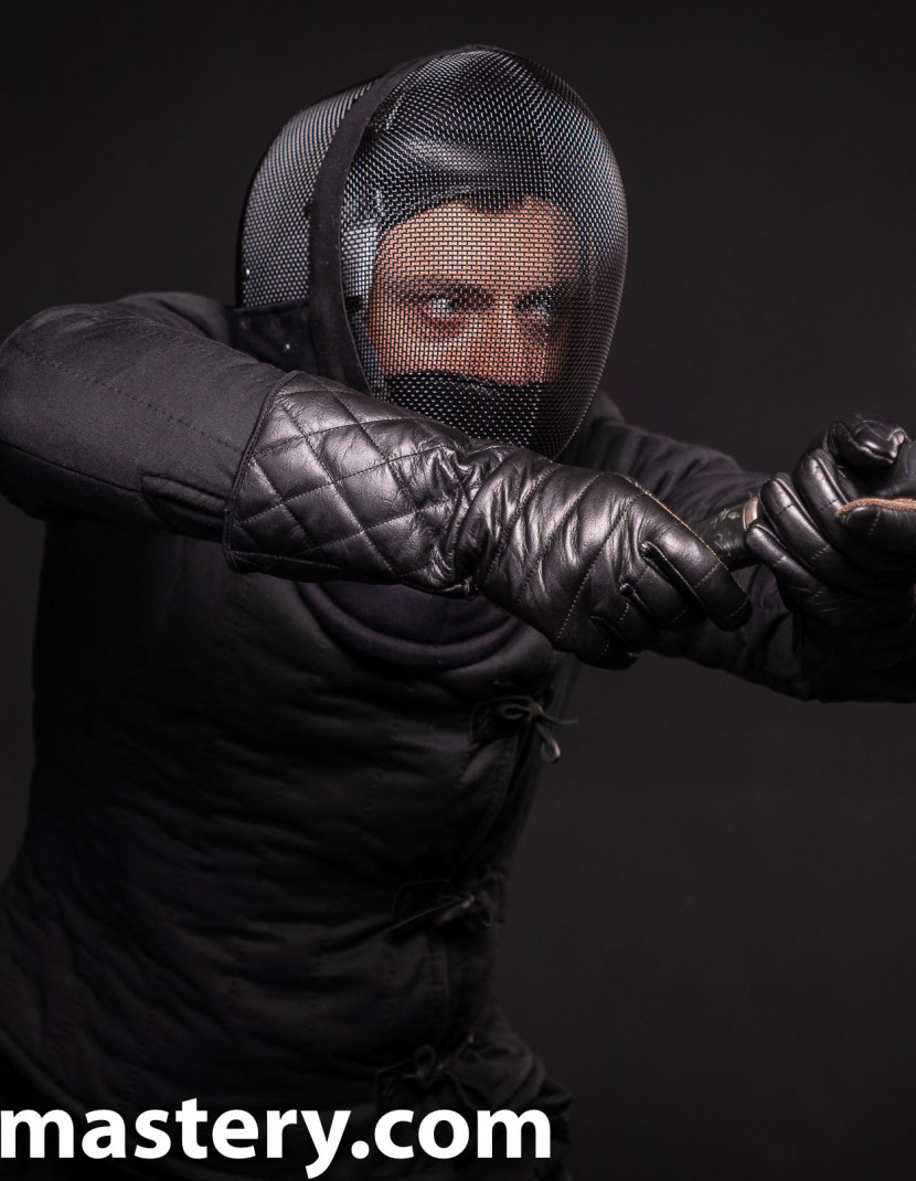 HEMA fencing mask 1000N photo made by Steel-mastery.com