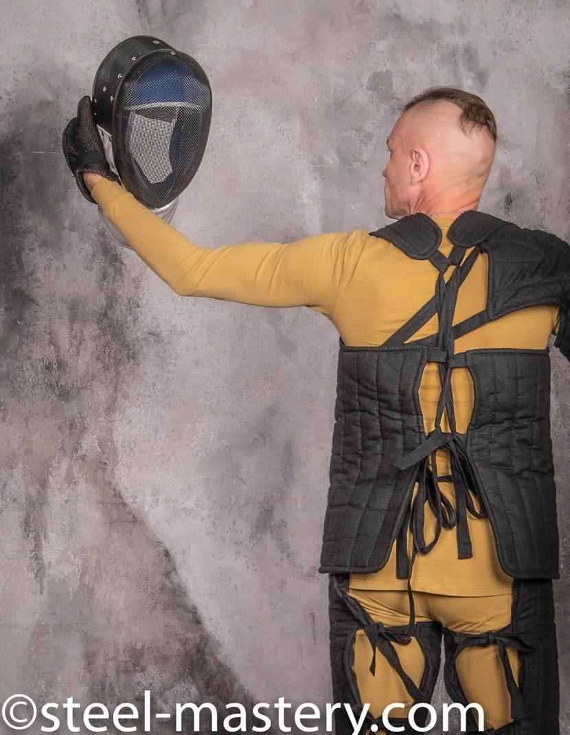 HEMA TRAINING GAMBESON ARMOR KIT photo made by Steel-mastery.com