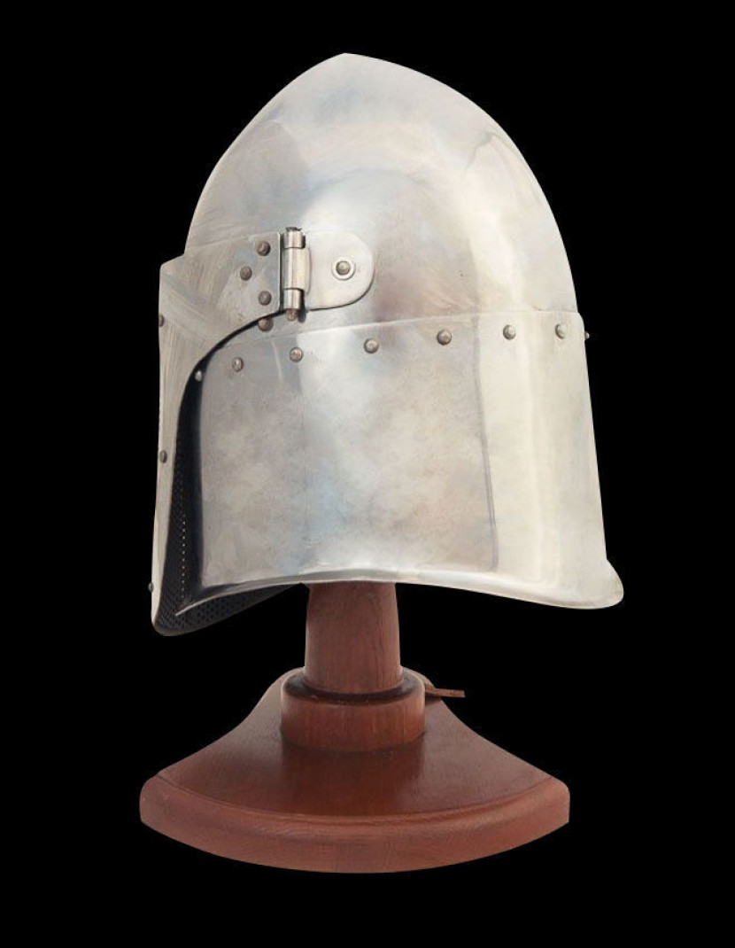 Fencing helmet photo made by Steel-mastery.com
