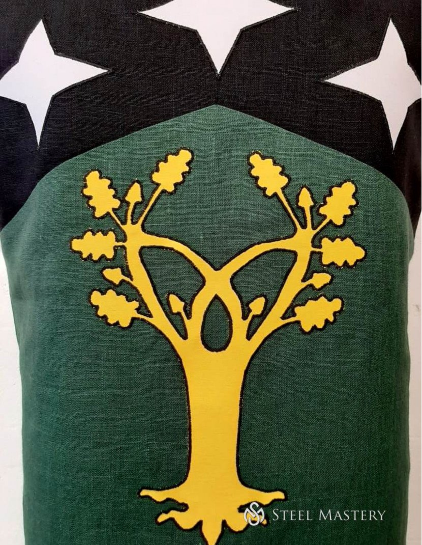 TABARD WITH STARS AND TREE  photo made by Steel-mastery.com