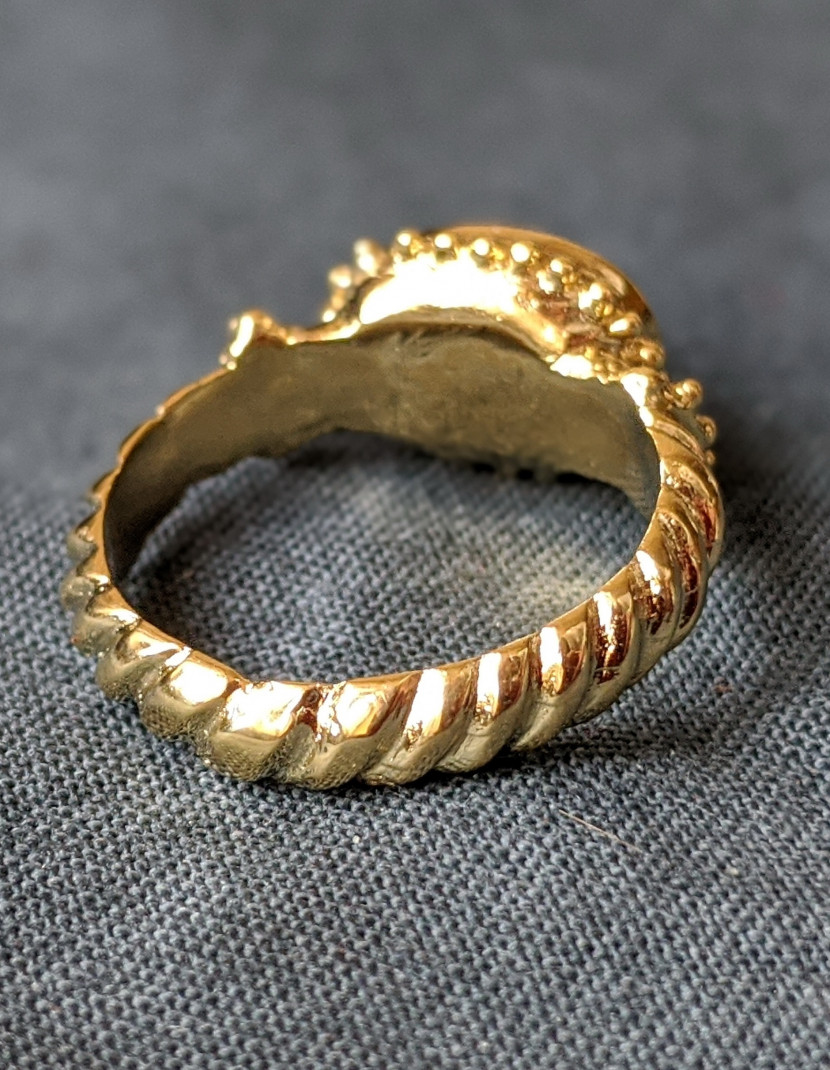 Western European Medieval ring photo made by Steel-mastery.com
