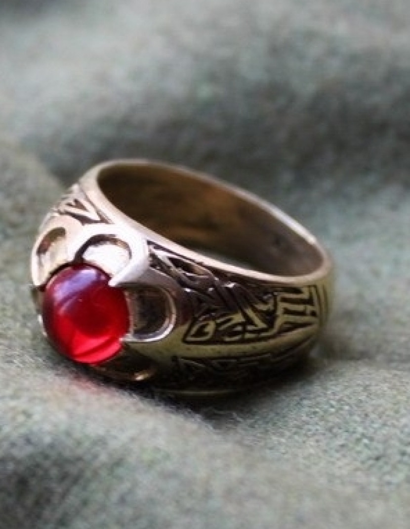 Medieval ring, England photo made by Steel-mastery.com