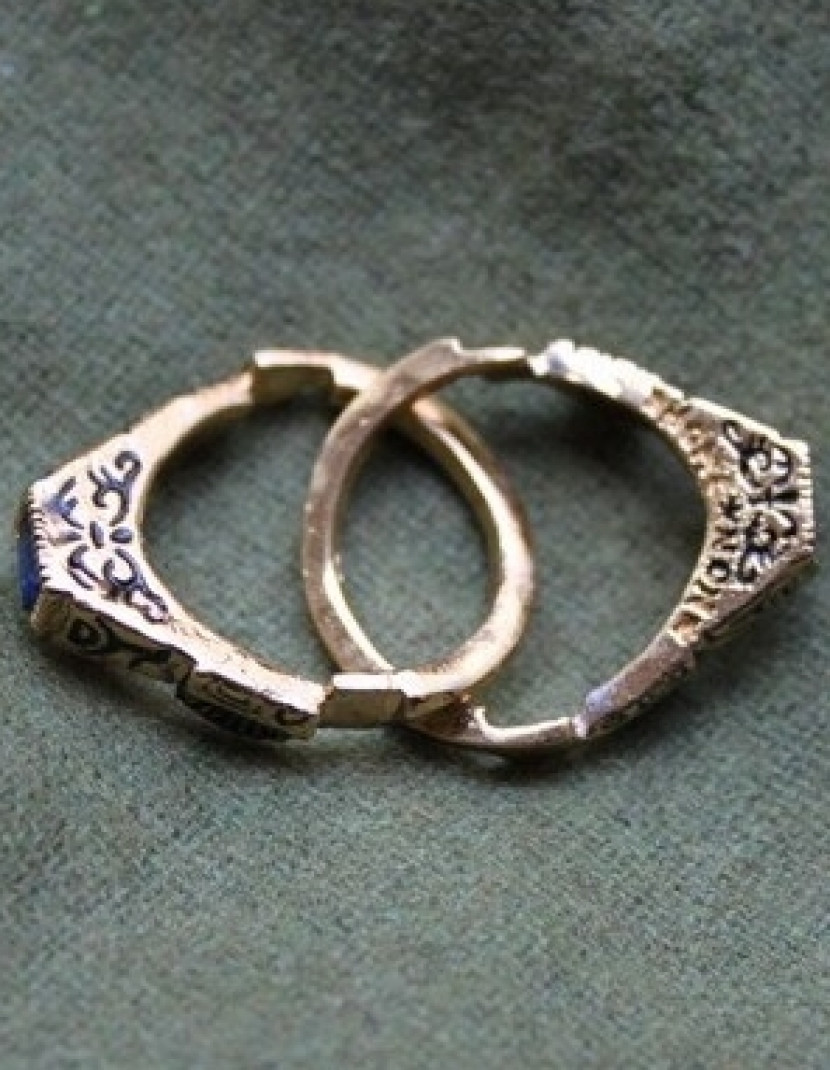 Medieval wedding ring, Germany photo made by Steel-mastery.com