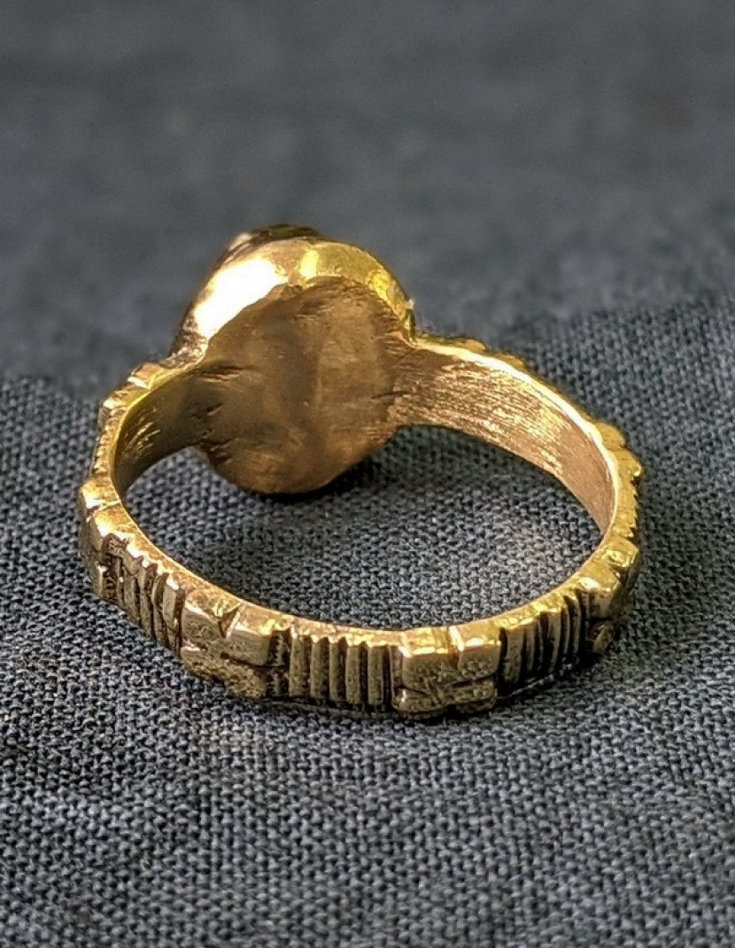 Medieval ring, England or France photo made by Steel-mastery.com