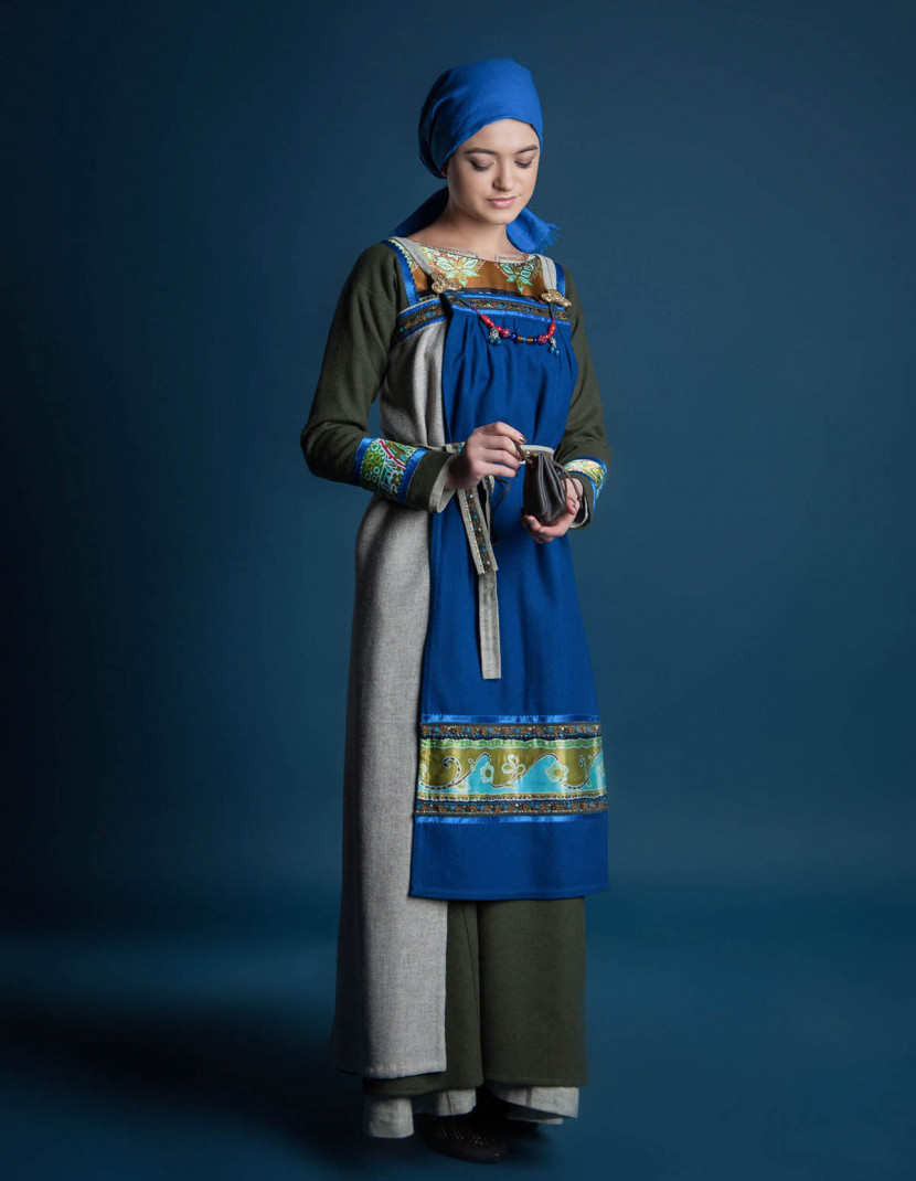 """Women's viking outfit """"Freyja style"""" photo made by Steel-mastery.com"""