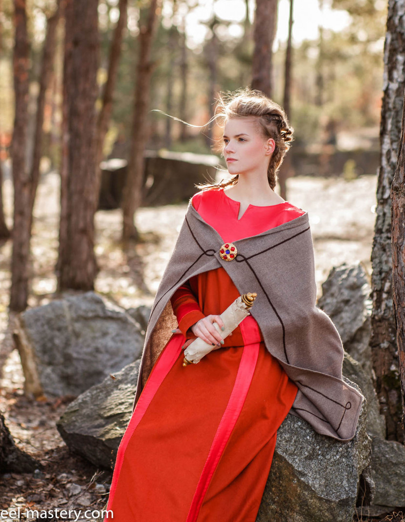 """Medieval viking clothing """"Sif style"""" photo made by Steel-mastery.com"""