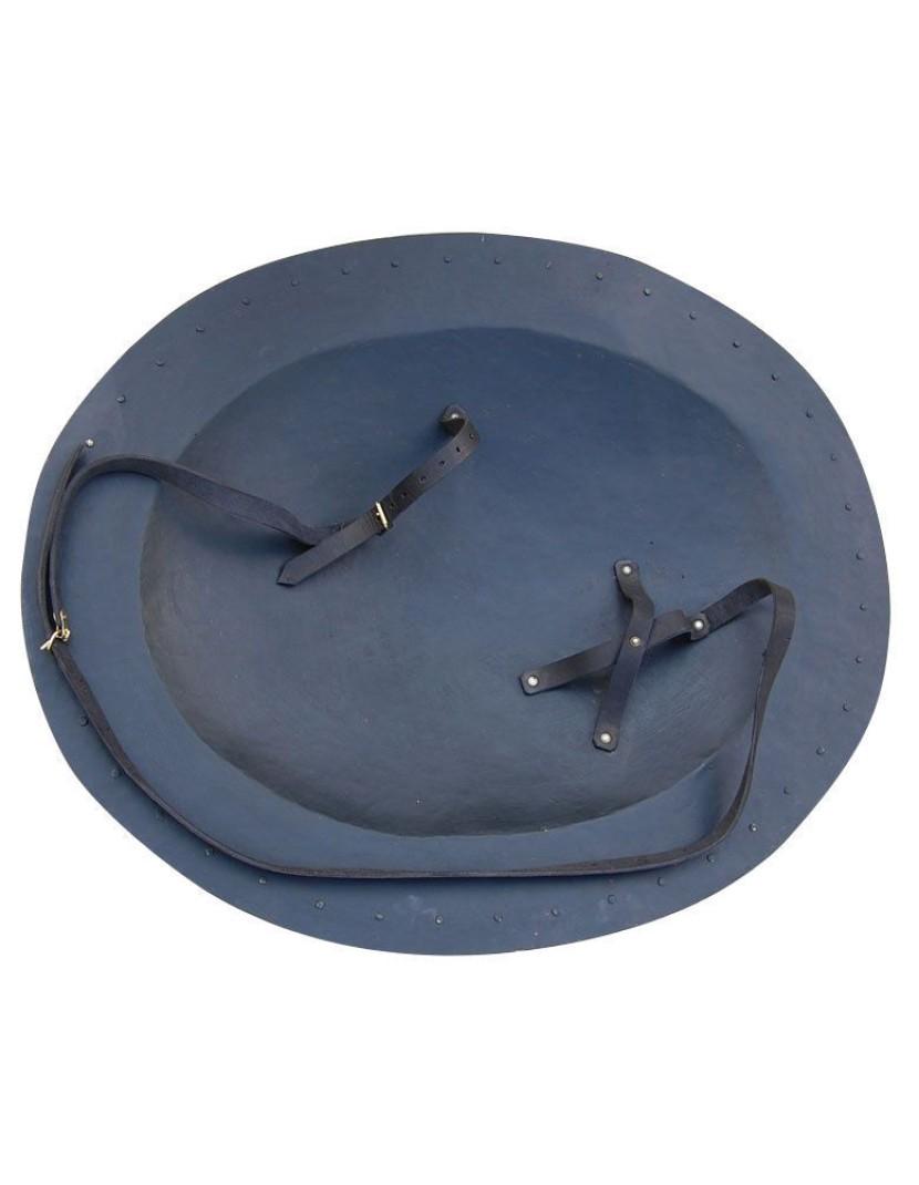 Hoplite shield or hoplon photo made by Steel-mastery.com