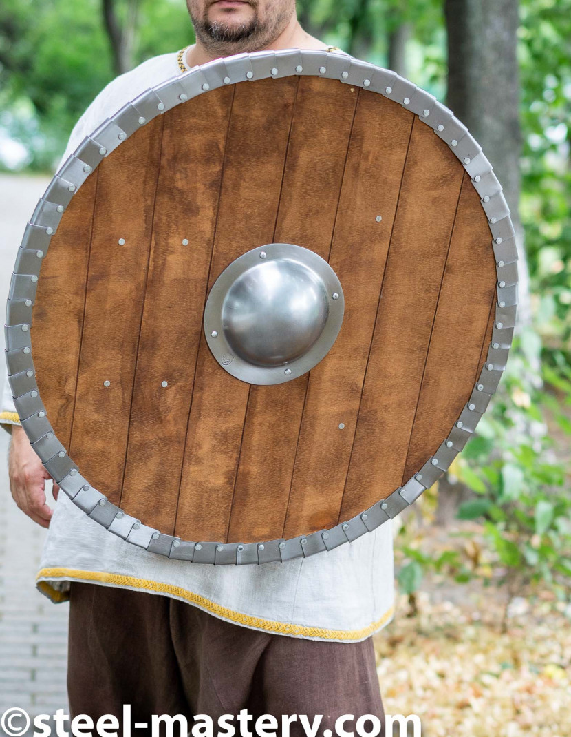 Round Shield photo made by Steel-mastery.com