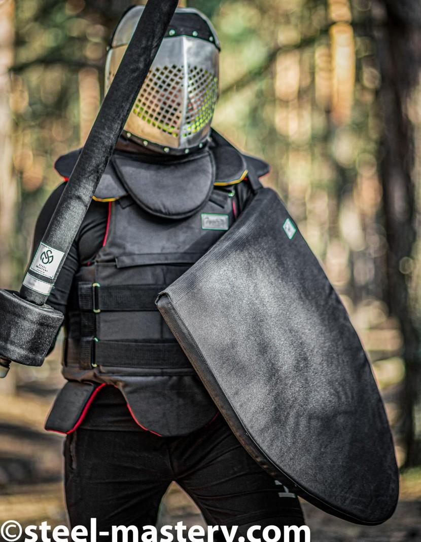 Soft armor Triangle shield photo made by Steel-mastery.com