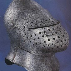 Visors of bascinet: from primitive to grotesque