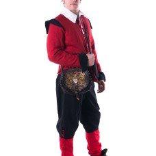 Costume of XVII century European citizen