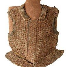 Brigandine: materials and fabrics for armor.