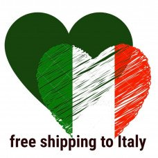 FREE SHIPPING TO ITALY!