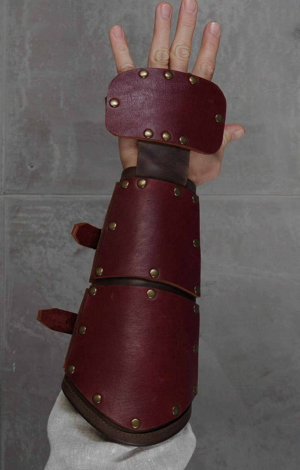 Leather armor leather arm armor