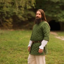Gambeson, short-sleeved gambeson