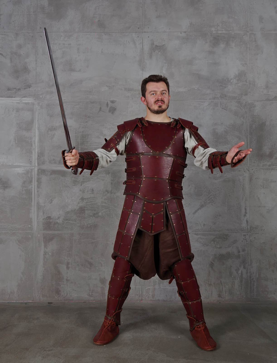 Leather armor leather body armor