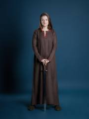 viking clothing viking brown tunic viking dress