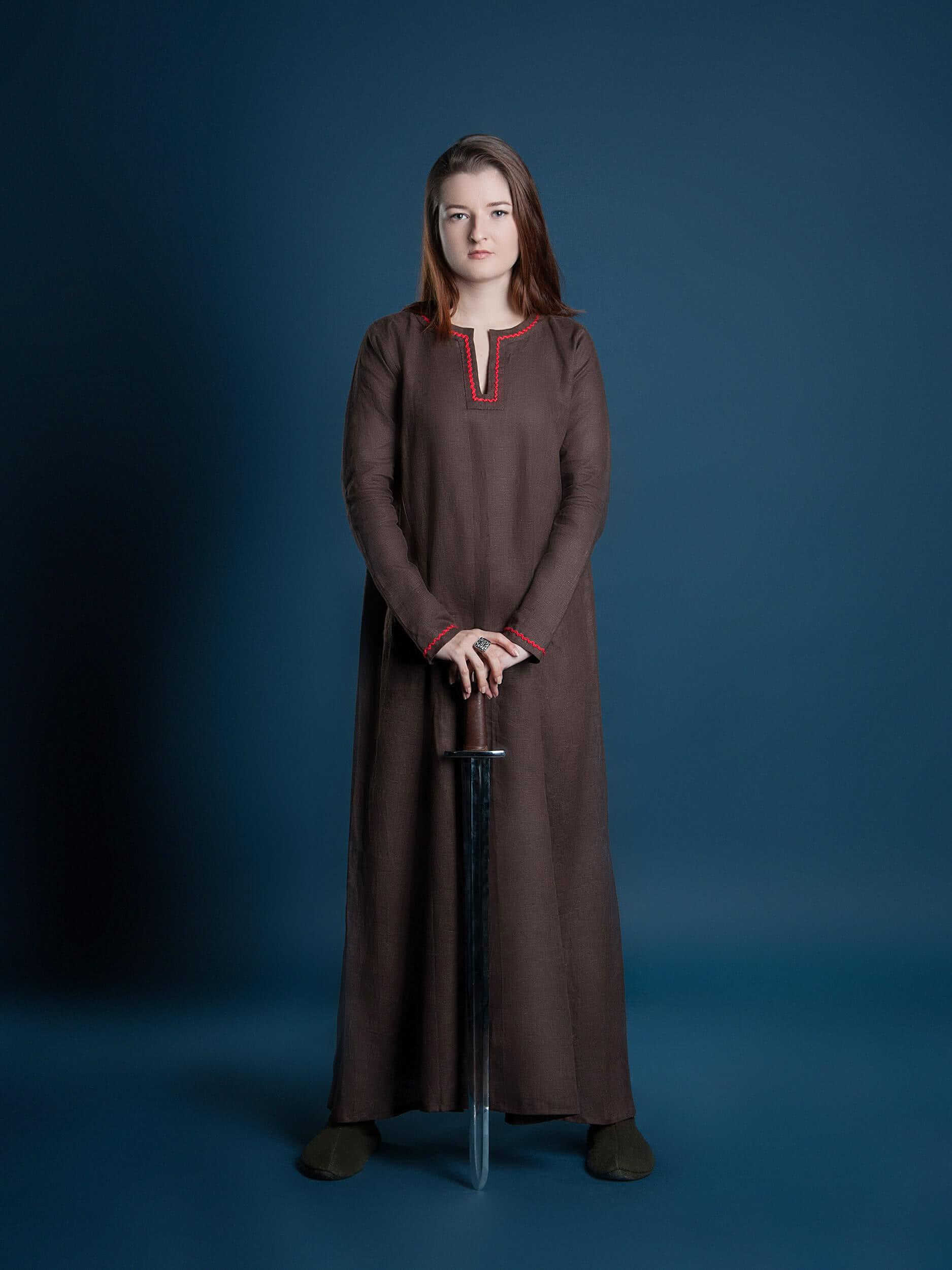 viking clothing viking brown tunic viking dress