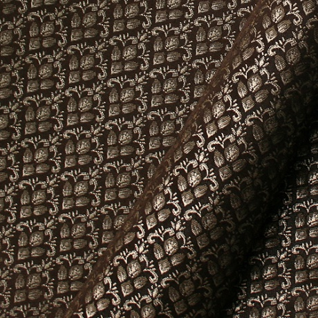 Jacquard dark brown
